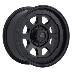 Pacer Wheels 166SB Nighthawk - Satin Black Rim - 17x8.5