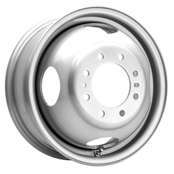 Pacer Wheels 179S Steel Dually - Silver - 16x6