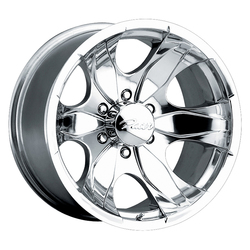 Pacer Wheels 187P Warrior - Polished Rim - 16x10