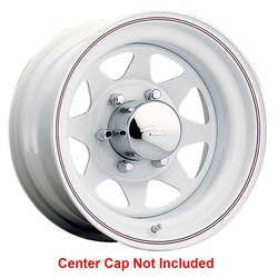 Pacer Wheels 310W Spoke - White Rim - 15x7