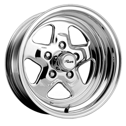 Pacer Wheels 521P Dragstar - Polished Rim - 15x7