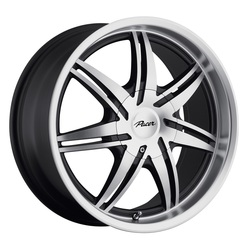 Pacer Wheels 773MB Mantis - Diamond Face/Black Accents Rim - 16x7