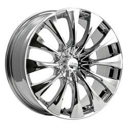 Pacer Wheels 776C Silhouette - Chrome Rim - 16x7.5