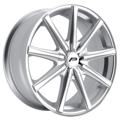 Pacer Wheels 789MS Evolve - Mirror Machined Face w/Titanium Silver Accents