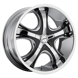 Platinum Wheels Platinum Wheels 416C - Chrome/Black Inserts