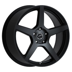 Platinum Wheels 432SB Elite - Satin Black w/ Satin Clear-Coat Rim