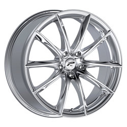 Platinum Wheels 435C Flux - Chrome Plated