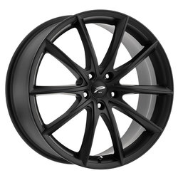 Platinum Wheels 435SB Flux - Satin Black w/ Satin Clear-Coat