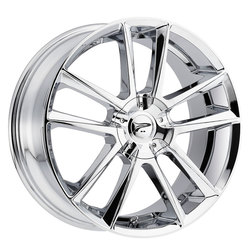 Platinum Wheels 436C Gemini - Chrome Plated