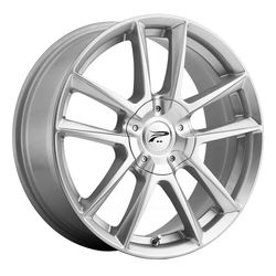 Platinum Wheels 436S Gemini Winter - Bright Silver w/ Ultra Armor All-Season Coating Rim