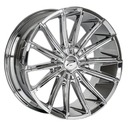 Platinum Wheels 439C Turbine - Chrome Plated Rim