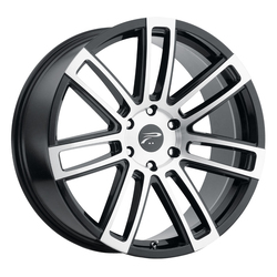 Platinum Wheels 441U Ghost - Gloss Black w/ Diamond Cut Face and Clear Coat