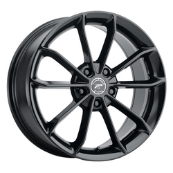 Platinum Wheels 457BK Revelation - Gloss Black w/ Clear Coat