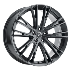 Platinum Wheels 458GN Prophecy - Gloss Gun Metal with Clear-Coat Rim