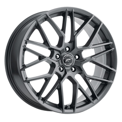 Platinum Wheels Platinum Wheels 459GN Retribution - Gloss Gun Metal with Clear-Coat