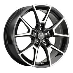 Platinum Wheels 462U Matrix - Black Machined Rim