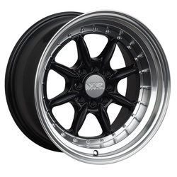 XXR Wheels 002.5 - Black / Machined Lip Rim
