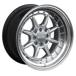 XXR Wheels 002.5 - Hyper Silver / Machined Lip Rim