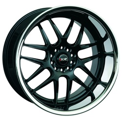 XXR Wheels 526 - Black / Sainless Steel Chrome Lip
