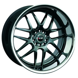 XXR Wheels XXR Wheels 526 - Hyper Black / Sainless Steel Chrome Lip - 18x10.5