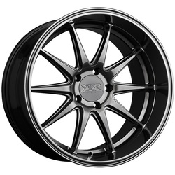 XXR Wheels 527D - Hyper Black Rim - 18x9