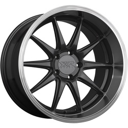 XXR Wheels 527D - Graphite / Machined Lip Rim - 18x9