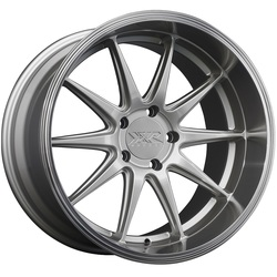 XXR Wheels 527D - Silver / Machined Lip - 18x10.5