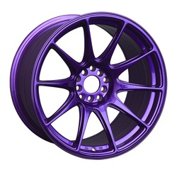 XXR Wheels 527 - Purple Rim - 17x7.5