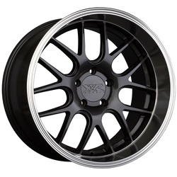 XXR Wheels 530D - Graphite / Machined Lip Rim - 19x10.5
