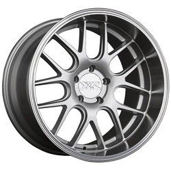 XXR Wheels 530D - Silver / Machined Lip Rim - 18x9