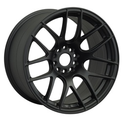XXR Wheels 530 - Flat Black - 16x8.25