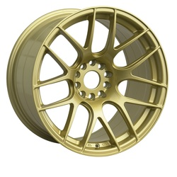 XXR Wheels 530 - Gold Rim - 17x7