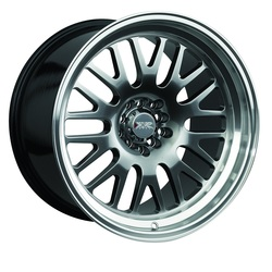 XXR Wheels 531 - Hyper Black / Machined Lip Rim - 17x10