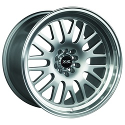XXR Wheels 531 - Hyper Silver / Machined Lip Rim - 17x10