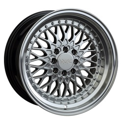 XXR Wheels 536 - Hyper Silver / Machined Lip Rim