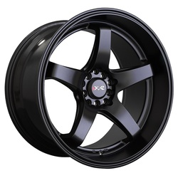 XXR Wheels 555 - Flat Black Rim