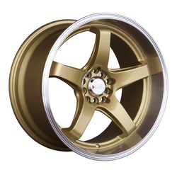 XXR Wheels 555 - Hyper Gold / ML Rim - 18x8.5