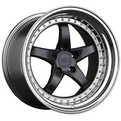 XXR Wheels 565 - Graphite / Platinum Lip
