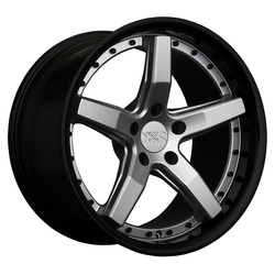 XXR Wheels 569 - Silver / Gloss Black Lip Rim