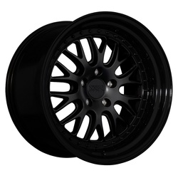 XXR Wheels 570 - Flat Black / Gloss Black Lip - 18x10.5