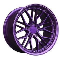 XXR Wheels 571 - Diamond Cut Purple Rim - 18x8.5