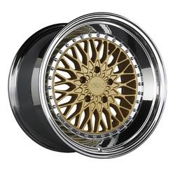 XXR Wheels 576 - Hyper Gold / Platinum Lip Rim - 18x9