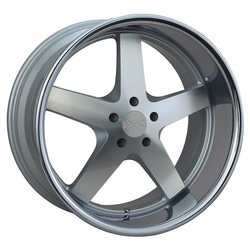 XXR Wheels 968 - Machined / Sainless Steel Chrome Lip
