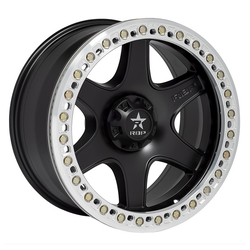 RBP Wheels 50R Cobra - Black w/Machined Ring Rim