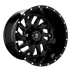 RBP Wheels 65R Glock - Gloss Black - 22x14