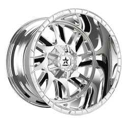 RBP Wheels 69R Swat - Chrome w/Black Insert - 22x14