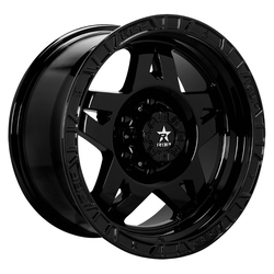 RBP Wheels 72R - Gloss Black Rim - 17x8.5