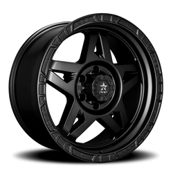 RBP Wheels 72R - Satin Black Rim - 17x8.5