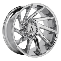 RBP Wheels 77R Spike - Chrome - 22x14