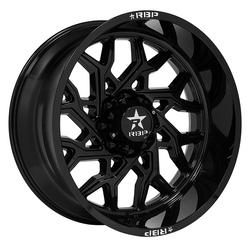 RBP Wheels 80R Scorpion - Black Rim - 22x14